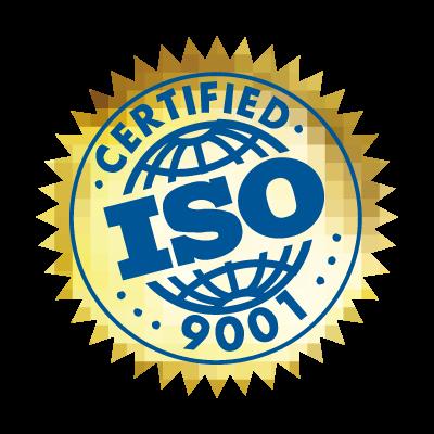 ISO 9001 Certified logo vector logo