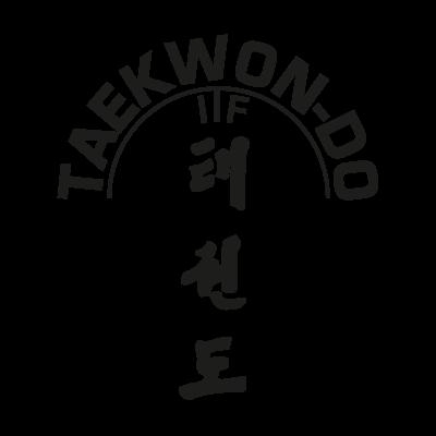 ITF Taekwon logo vector logo