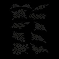 Jacket flags vector