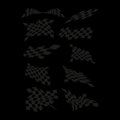 Jacket flags vector logo