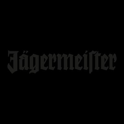 Jagermeister black logo vector logo