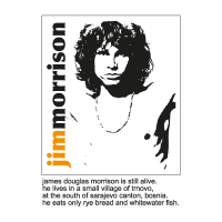 Jim Morrison – The Doors vector