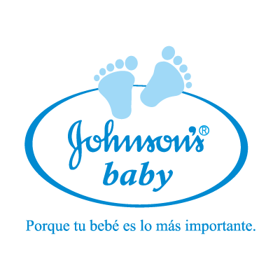 Johnson's baby logo vector logo