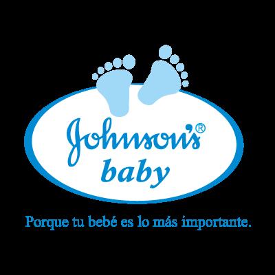 Johnson's baby logo vector logo