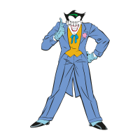 Joker from Batman vector
