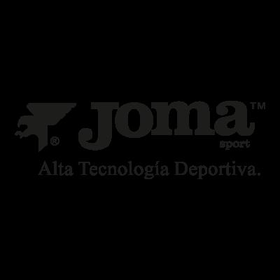 Joma black logo vector logo