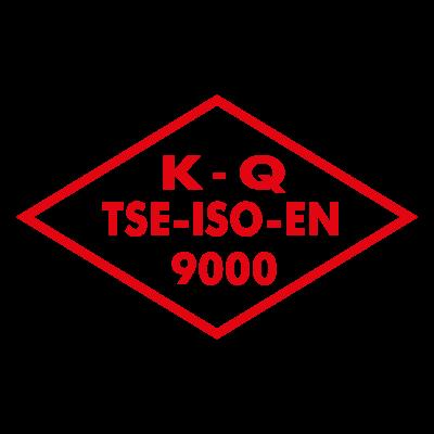 K Q TSE ISO EN 9000 logo vector logo