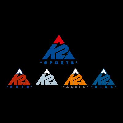 K2 Sports logo vector logo