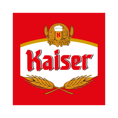 Kaiser Cerveja beer logo vector logo