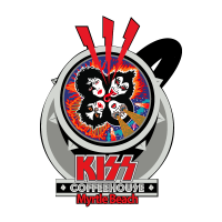 KISS Rock N' Roll Over Coffee cup logo
