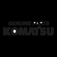 Komatsu Genuine Parts logo