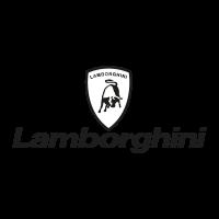 Lamborghini black logo