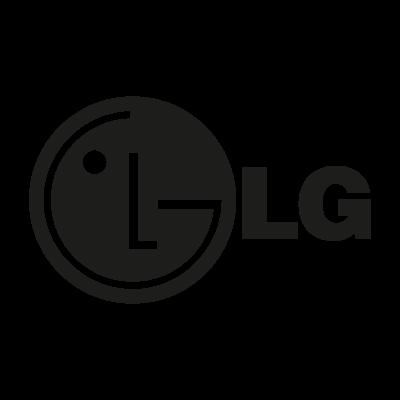 LG black logo vector logo