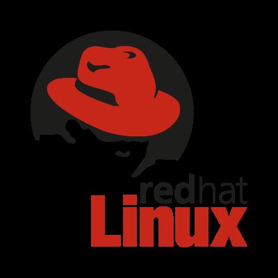Linux Red Hat logo vector logo