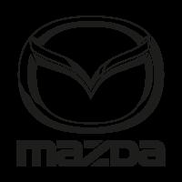 Mazda black logo