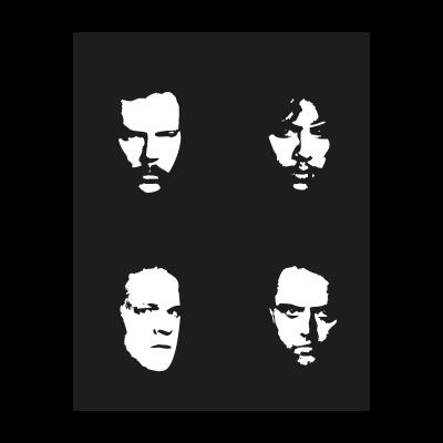 Metallica faces vector logo