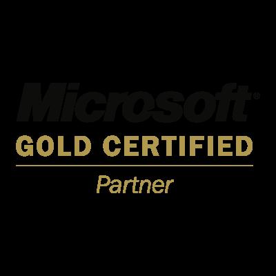Microsoft Gold Certified Partner logo vector logo