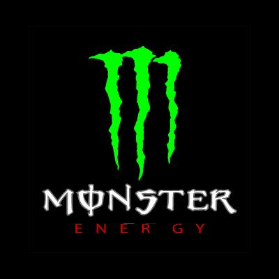 Monster Energy drink logo vector logo