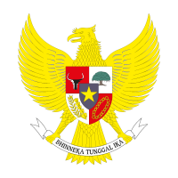 National emblem of Indonesia logo