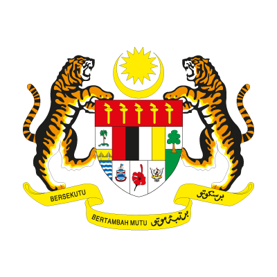 Coat of arms of Malaysia logo vector logo