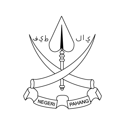 Coat of arms Pahang logo vector logo