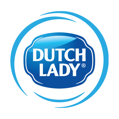 Dutch Lady logo vector logo