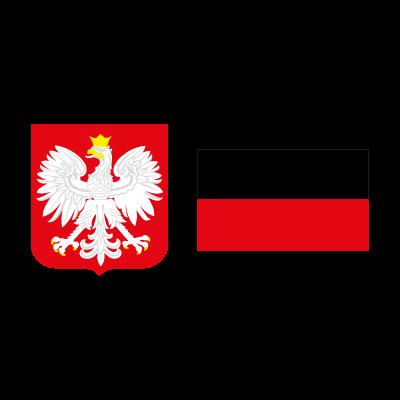 Flag of Poland vector logo