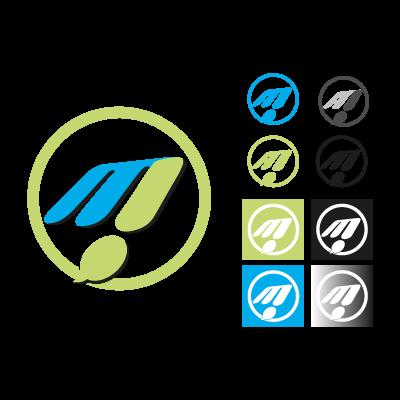 M! Publicidad logo vector logo