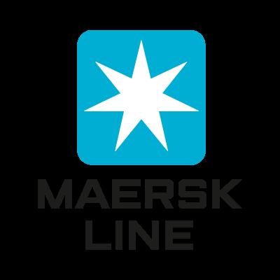 Maersk Line logo vector logo