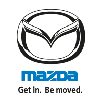 Mazda (Get in. Be moved.) logo
