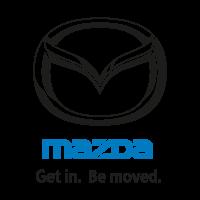 Mazda (Get in. Be moved.) logo