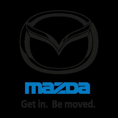 Mazda (Get in. Be moved.) logo vector logo