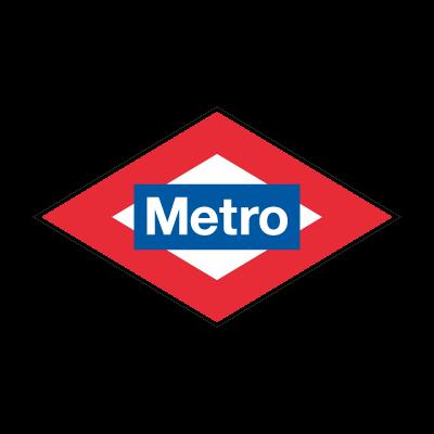 Metro Madrid logo vector logo