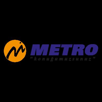 Metro Turizm logo vector logo