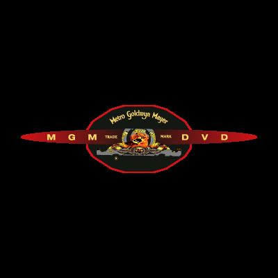 MGM dvd logo vector logo