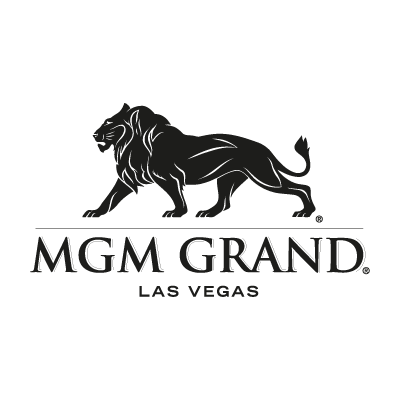 MGM Grand black logo vector logo