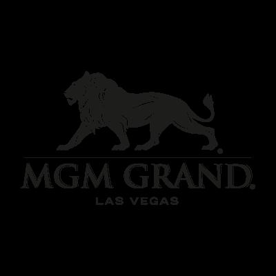 MGM Grand black logo vector logo
