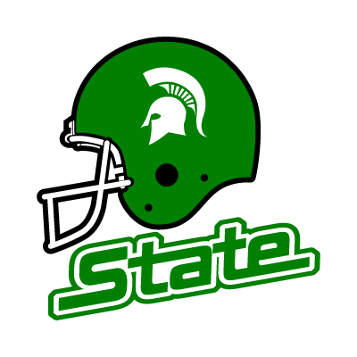 Michigan State Spartans Helmet logo vector logo