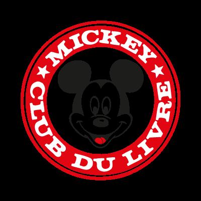 Mickey Club Du Livre vector logo