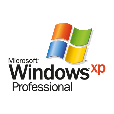 Microsoft Windows XP Professional logo vector logo