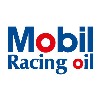 Mobil Racing oil logo vector logo