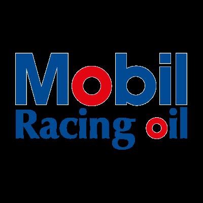 Mobil Racing oil logo vector logo