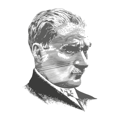Mustafa Kemal Ataturk logo vector logo