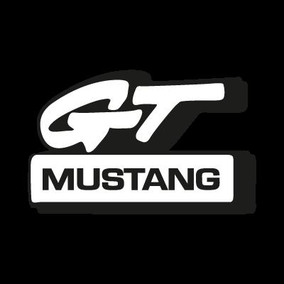 Mustang GT logo vector logo