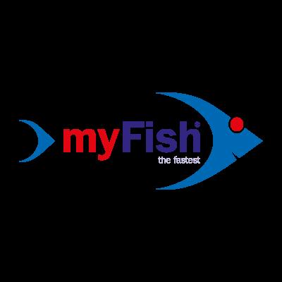 My fish logo vector logo