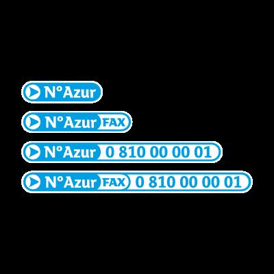 N Azur logo vector logo