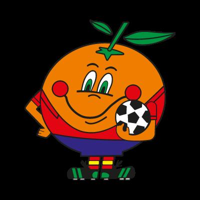 Naranjito Mundial logo vector logo