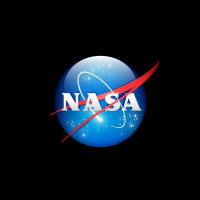 NASA 3D logo vector logo