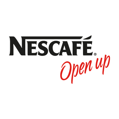 Nescafe Open up logo vector logo