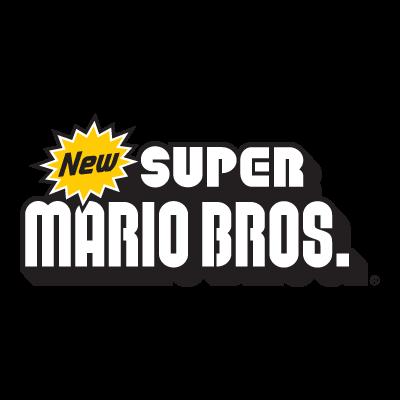 New Super Mario Bros Nintendo logo vector logo